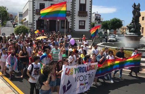 gay pride la palma
