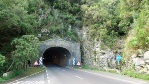tunnel oost en west la palma