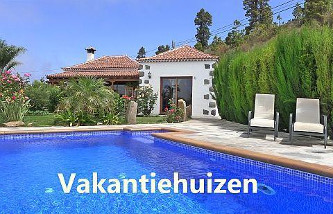 Vakantiehuizen op La Palma