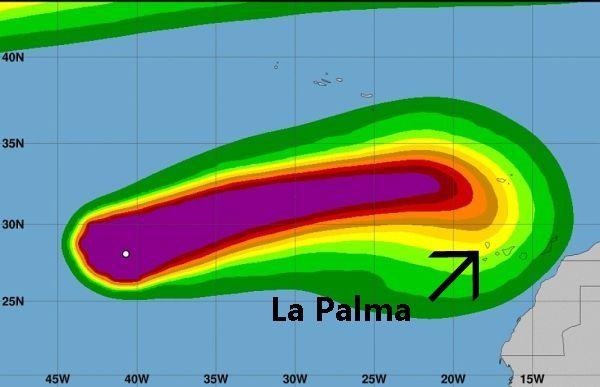 tropische storm leslie
