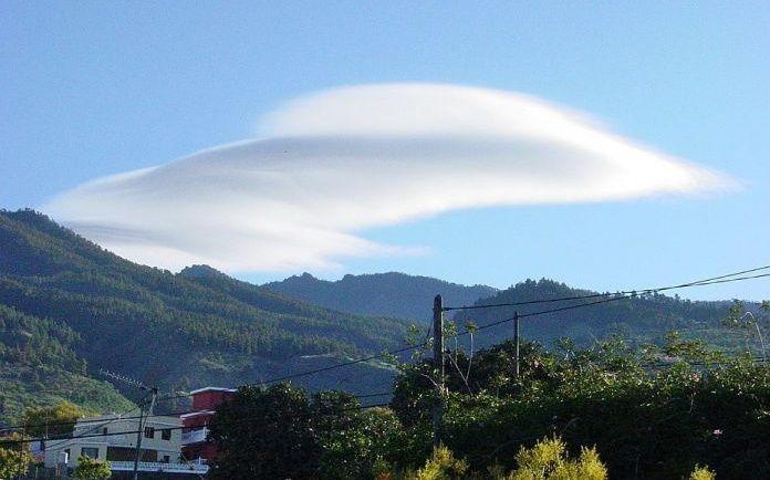 wolk weer la palma