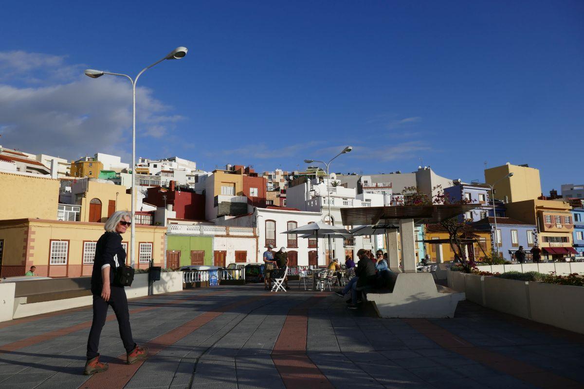 Huidige boulevard Tazacorte