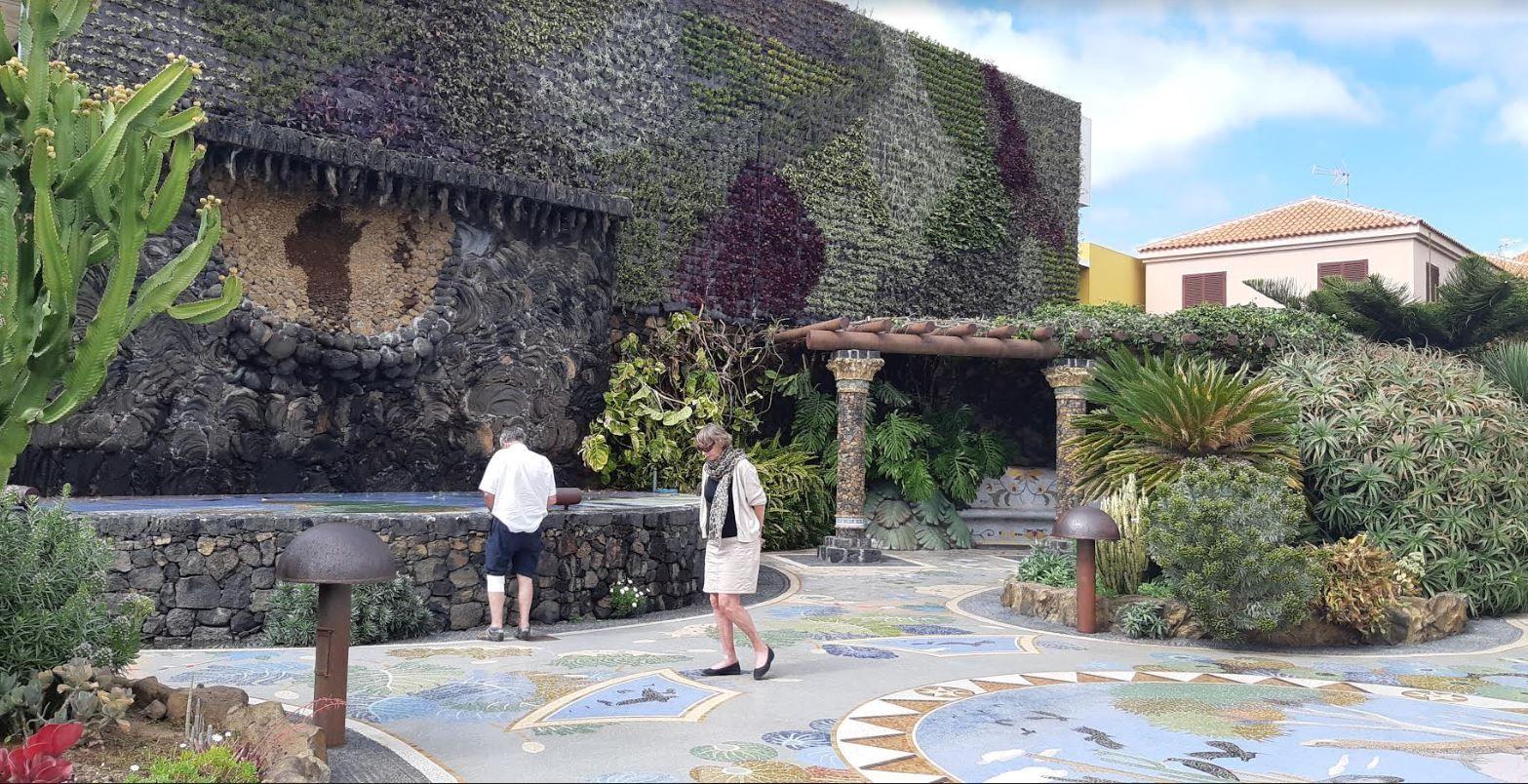 Verticale tuin La Palma